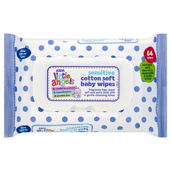 ASDA-Little-Angel-Sensitive-Cotton-Soft-Baby-Wipes-1