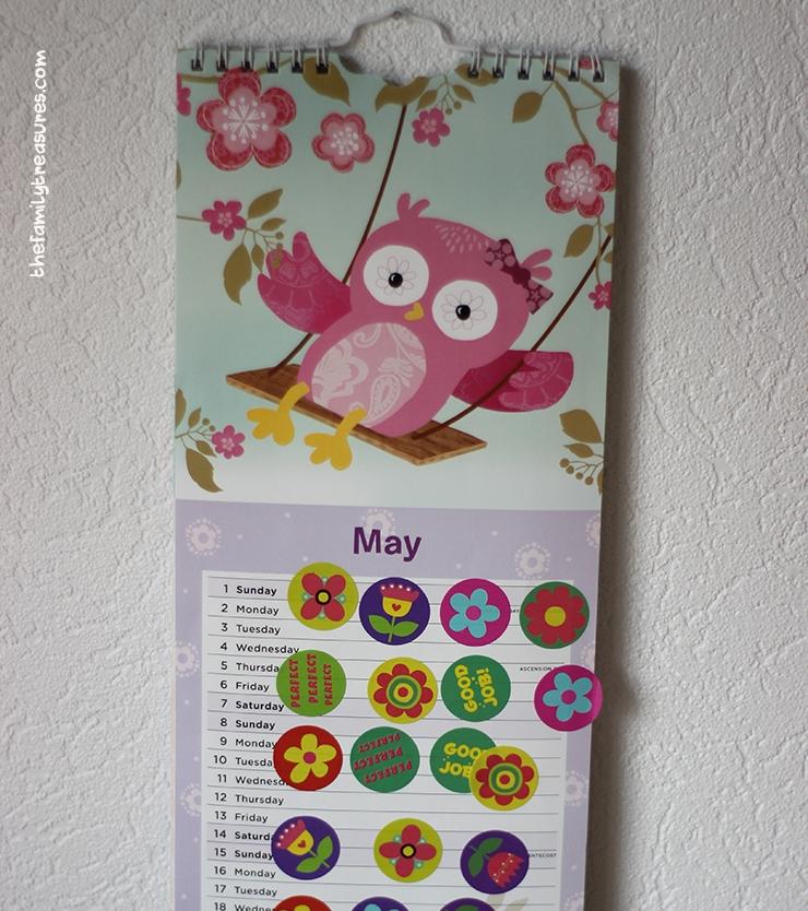 reward calendar