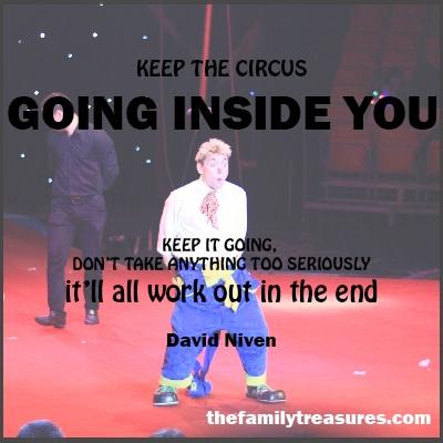 circus quote