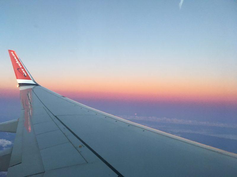 TFT sunset